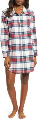 Vineyard Vines Jolly Plaid Flannel Pajama Shirt