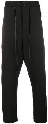 Isabel Benenato high waist drop crotch trousers