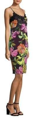 Trina Turk Floral-Print Lace Dress