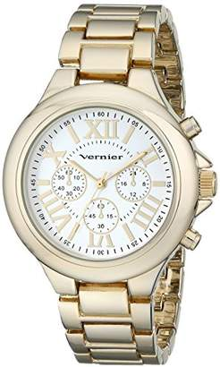 Vernier Women's VNR11157YG Gold-Tone Watch