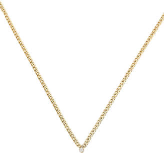 Chicco Zoe Diamond Small Curb Chain Necklace