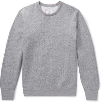 e3d3a4f0107 Reigning Champ Melange Fleece-Back Cotton-Blend Jersey Sweatshirt