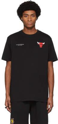 Marcelo Burlon County of Milan Black NBA Edition Chicago Bulls T-Shirt