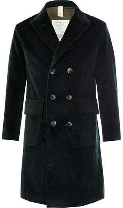 MAN 1924 Double-Breasted Cotton-Corduroy Coat