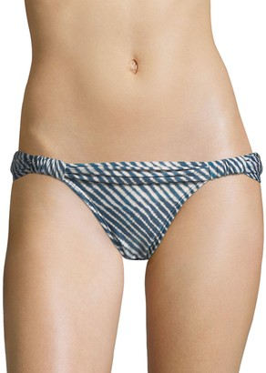 Vix Paula Hermanny Corales Striped Bikini Bottom