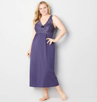 Avenue Slate Blue Sexy Nights Sleep Maxi