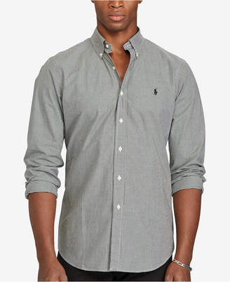 Polo Ralph Lauren Men's Men's Long Sleeve Checked Poplin Shirt