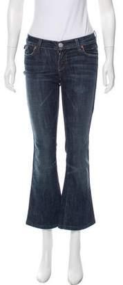 Rock & Republic Low-Rise Flared Jeans