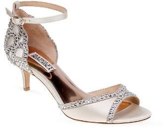 Badgley Mischka Gillian Embellished Ankle Strap Sandals