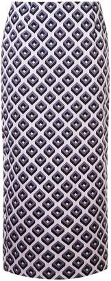 Diane von Furstenberg cube pencil skirt