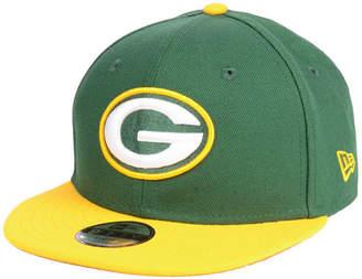 New Era Boys' Green Bay Packers Two Tone 9FIFTY Snapback Cap