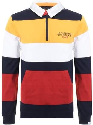 Billionaire Boys Club Rugby Polo T Shirt Yellow
