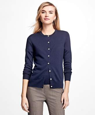 Long-Sleeve Saxxon Wool Cardigan $148 thestylecure.com