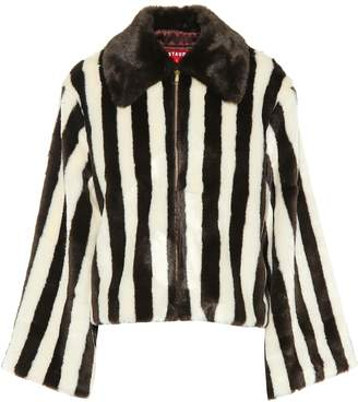 STAUD China Club faux fur jacket