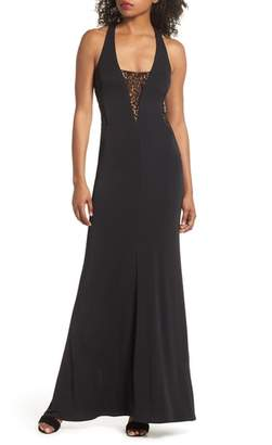 Maria Bianca Nero Riley Lace Inset Gown