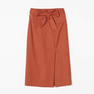 M7days for Office ラップ風デザインスカート