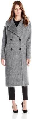 Badgley Mischka Women's Carmen Oversize Wool Mohair Coat