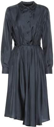 Giuliva Heritage Collection The Minerva silk shirt dress
