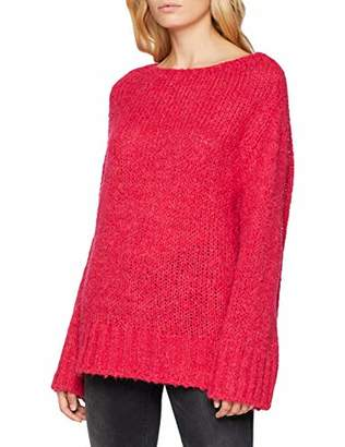 Esprit Women's 098ee1i022 Jumper (Dark Pink 650), Medium