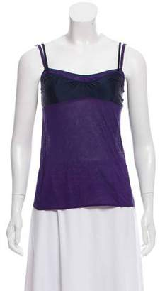 Araks Sleeveless Paneled Top