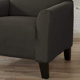 Winston Porter Box Cushion Sofa Slipcover