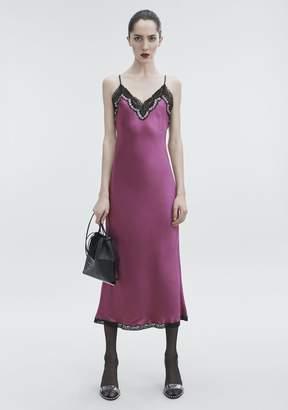 Alexander Wang SATIN SLIP DRESS
