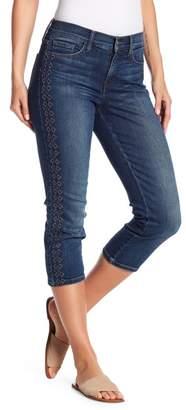 NYDJ Alina Embroidery Capri Jeans