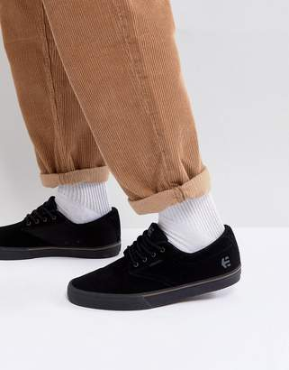Etnies Jameson Vulc Sneakers in Black