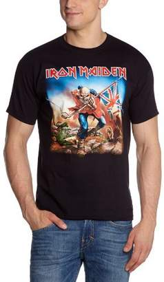 Old Skool Hooligans Iron Maiden T Shirt The Trooper 100% Official