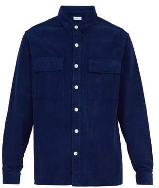 Saturdays NYC Magnus Cotton Corduroy Overshirt - Mens - Blue