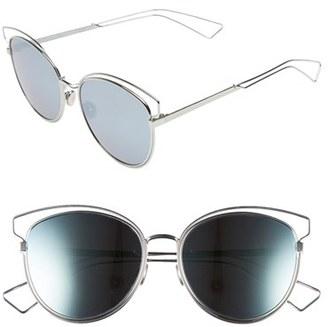 Women's Dior Siderall 2 56Mm Round Sunglasses - Aqua $480 thestylecure.com