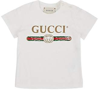 77a034a459f Gucci Infants  Logo-Print Cotton T-Shirt