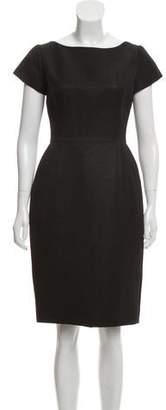Isaac Mizrahi Knee-Length Textured Dress