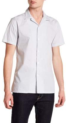 JB Britches Gersho Short Sleeve Trim Fit Shirt