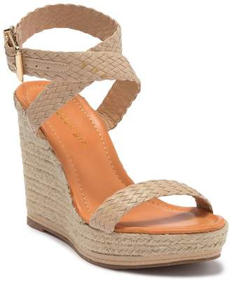 Madden-Girl Narla Wrap-Around Ankle Strap Wedge Platform Sandal