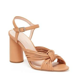 Loeffler Randall Cece Knot Heel Ankle Strap Sandal