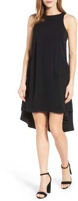 Petite Women's Pleione Ruffled High/low Shift Dress $68 thestylecure.com