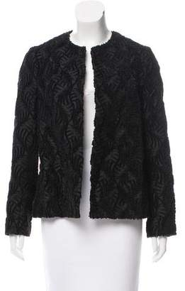 Tome Textured Open-Front Jacket