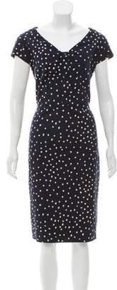 Samantha Sung Polka Dot Midi Dress