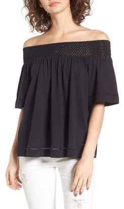 Women's Roxy Hey Tonight Off The Shoulder Top $39.50 thestylecure.com