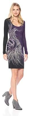 Just Cavalli Womens Phaesant Paisley Print Dress