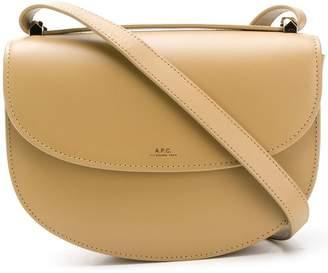 A.P.C. flap crossbody bag