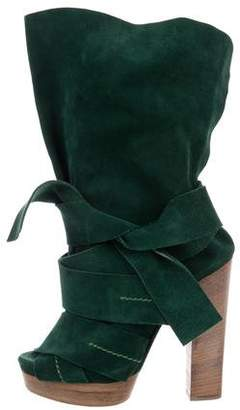 Chloé Suede Ankle Booties