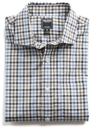 Todd Snyder Spread Collar Tattersall Shirt