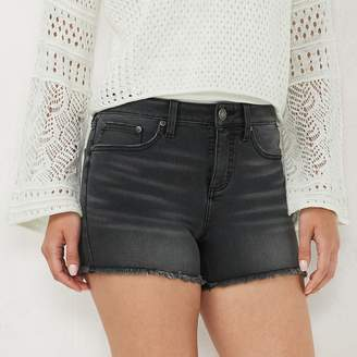 Lauren Conrad Women's High Rise Cut Off Shorts