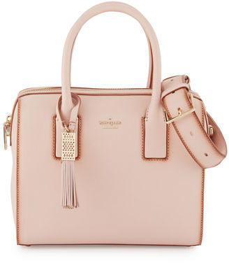 Kate Spade New York Ridley Street Leather Satchel Bag $528 thestylecure.com