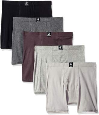 Beverly Hills Polo Club Men's 5 Pack Comfort Boxer Brief