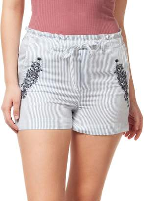 Dex Striped Drawstring Shorts