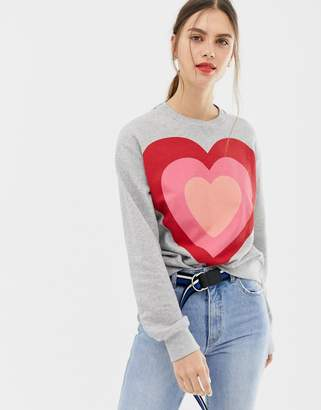 Paul Smith heart sweater