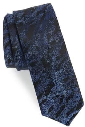 Calibrate Gypsum Camo Silk Tie